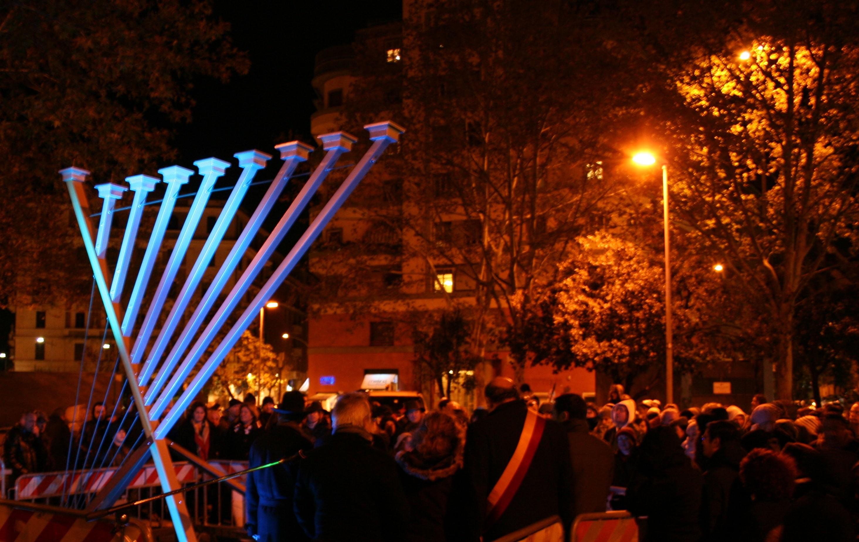 Chanukah lighting