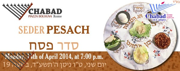 Pesach Seder with Chabad in Rome
