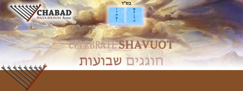 Shavout: Ten Commandments with Chabad