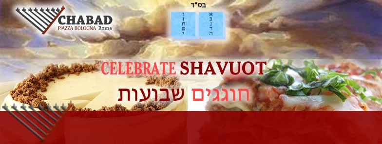 Shavout with Chabad