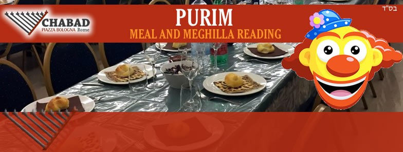 Purim Meal and Meghila reading