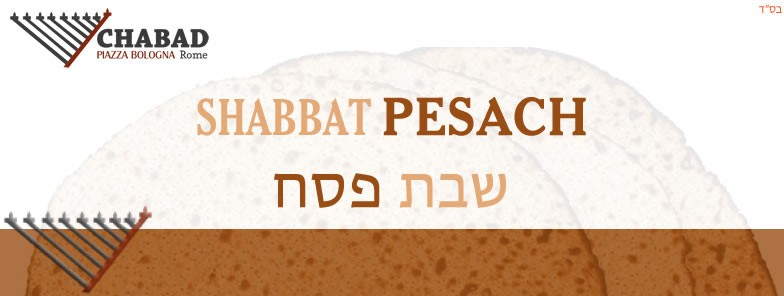 Pesach day with Chabad
